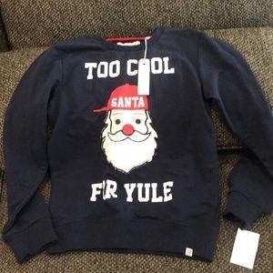 Sovereign Codes Boys Santa 🎅 Sweatshirt 10/12